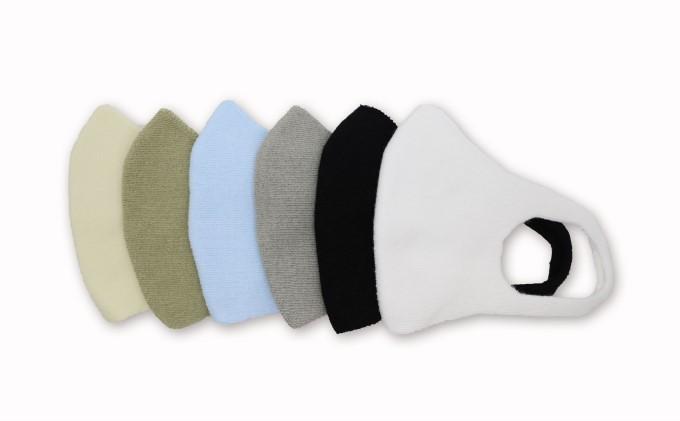 クールマックス使用の洗ってくりかえし使える立体速乾ニットマスク 6枚セット