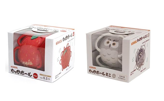 静岡県浜松市のふるさと納税 ベビーギフト わっかボール りんご フクロウ