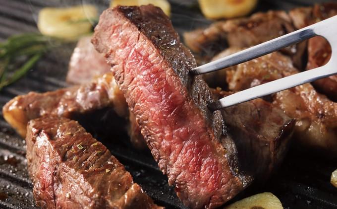 【男鹿の塩で食す!!ステーキセット】男鹿の塩と秋田錦牛サーロインステーキ 約300g×1枚