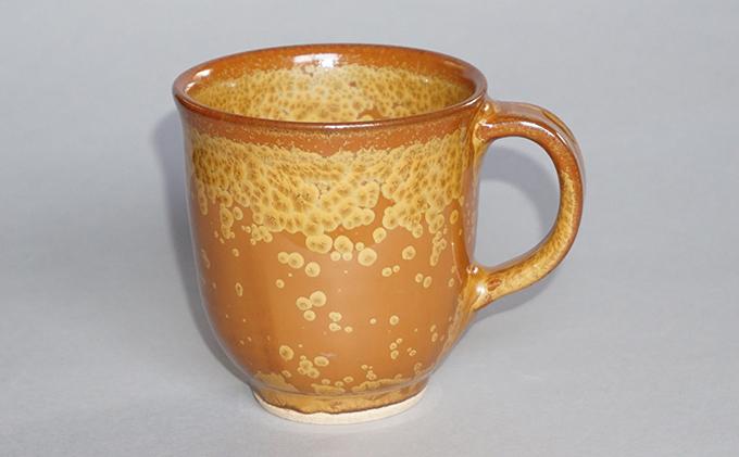 金花紋マグカップ