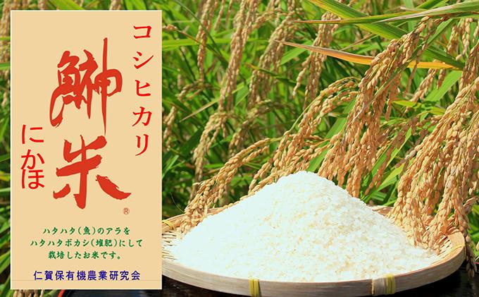 【11月から発送】【令和2年産】鰰米 コシヒカリ 精米10kg 新米 2ヶ月毎にお届け 年6回 計60kg