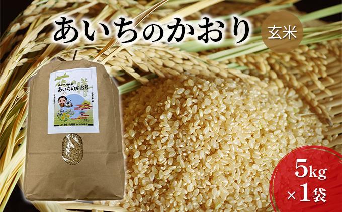 JAあいち尾東 玄米「あいちのかおり」5kg×1袋