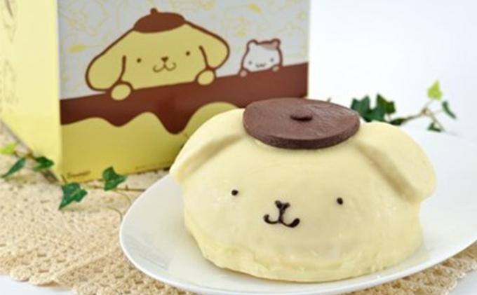 ポムポムプリンのケーキセット
