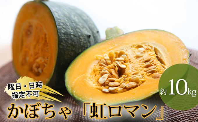 北海道月形町産のかぼちゃ「虹ロマン」約10kg 1箱