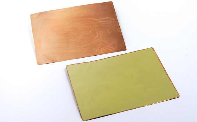 新型コロナ対策グッズ 銅製 フレキシブルシート