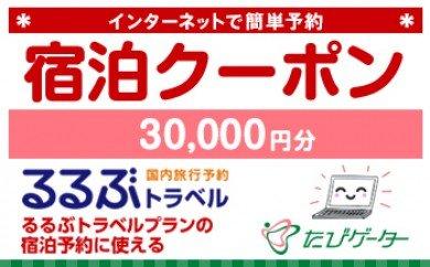 芸西村るるぶトラベルプランに使えるふるさと納税宿泊クーポン 30,000円分