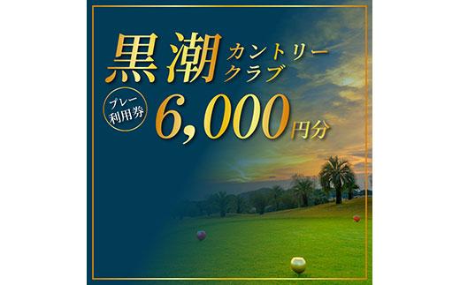 kochi黒潮カントリークラブ ご利用券 6,000円