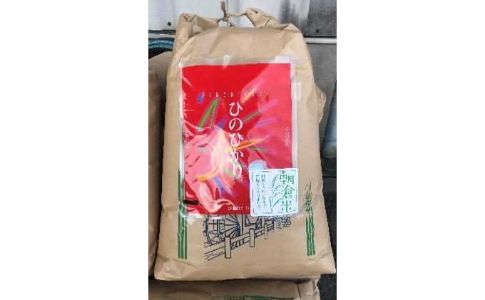 「ヒノヒカリ」玄米30kg