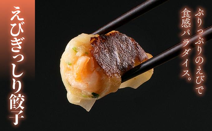 海老を詰め込んだえびぎっしり餃子60個セット