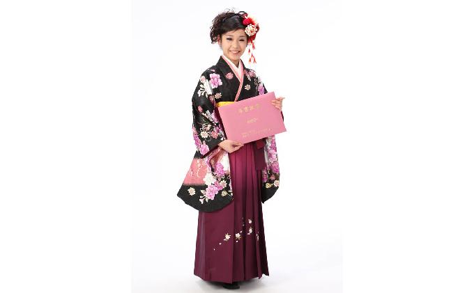 京都府木津川市のふるさと納税 卒業式服フォトプラン
