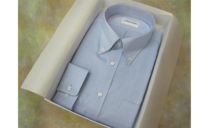オーダーワイシャツT -高瀬貝の貝ボタンを使用-