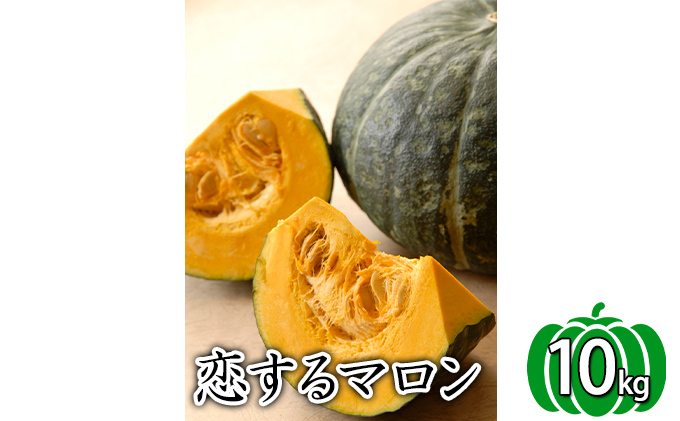 かみふらの産かぼちゃ【恋するマロン】10kg