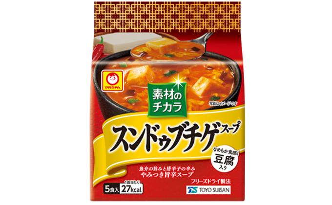 東洋水産 素材のチカラ スンドゥブチゲスープ 5P×6(ケース)