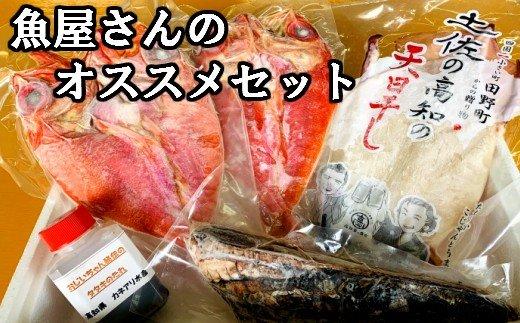高知県田野町のふるさと納税 魚屋さんのオススメセット