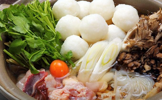 省吾特製のだまこ鍋セット(5人前)<ひろまる食品工房>※地元の味!!『 だまこ 鍋 』