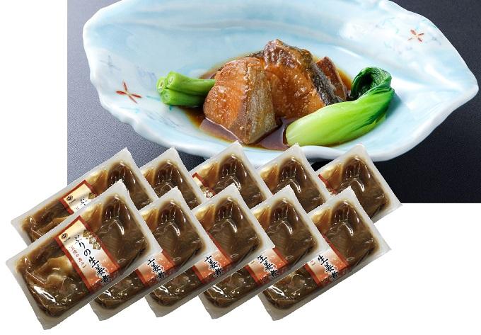 三陸海彩 ぶりの生姜煮1.3kg(130g×10個)