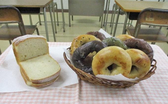 県立藤枝北高校生徒が商品開発!パン祭セット(ベーグル・食パン)