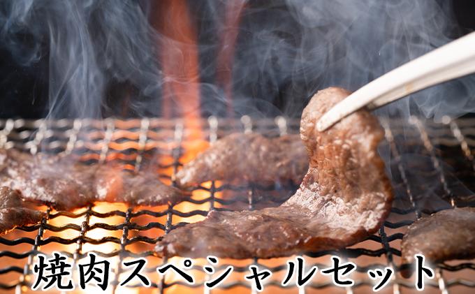 【一度にお届け!】石見和牛でちょっと贅沢!焼肉スペシャルセット(合計約1.3kg)