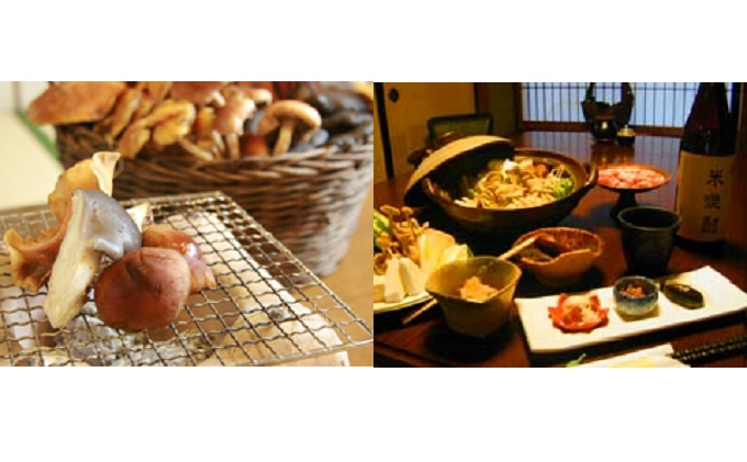 長野県小諸市のふるさと納税 きのこの森 ふわり家 御食事券5,000円分