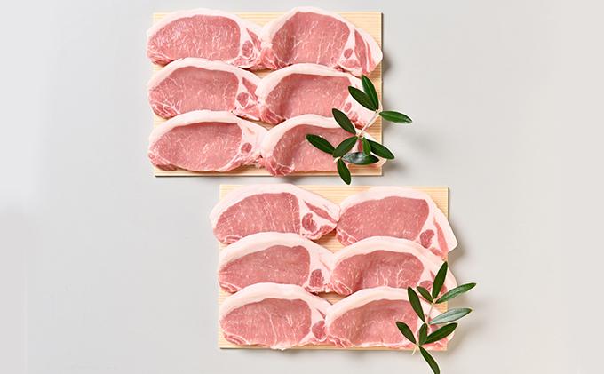 オリーブ豚ロースステーキ用 1200g(600g×2)