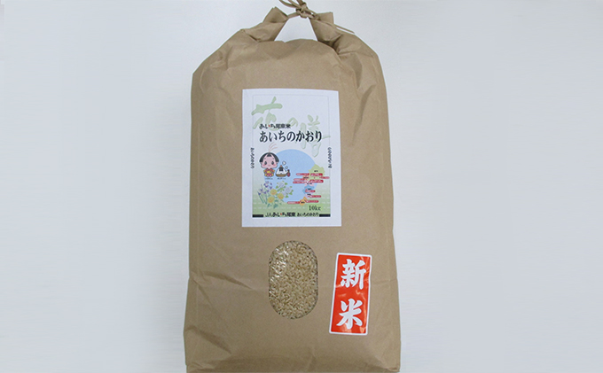 【定期便】あいちのかおり(玄米10kg×3回・隔月) JAあいち尾東