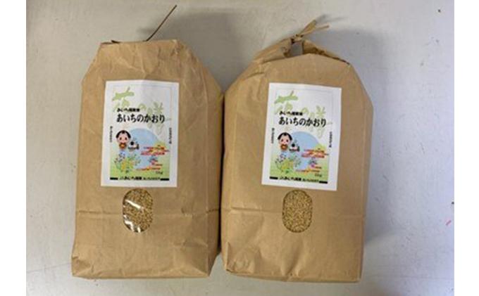 【定期便】あいちのかおり(玄米10kg(5kg×2袋)×6か月) JAあいち尾東