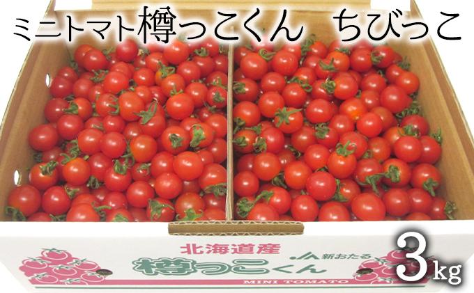 樽っこくん ちびっこ3kg(北海道仁木町産ミニトマト)