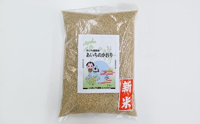 JAあいち尾東 玄米「あいちのかおり」2kg×1袋