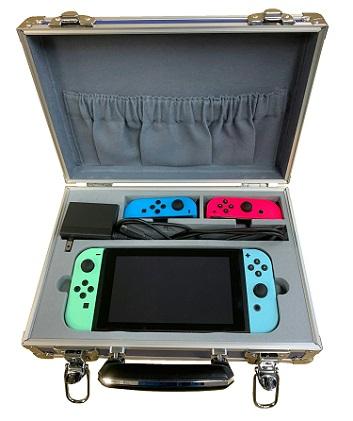 【三研工業オリジナル】Nintendo Switch収納専用アルミケース