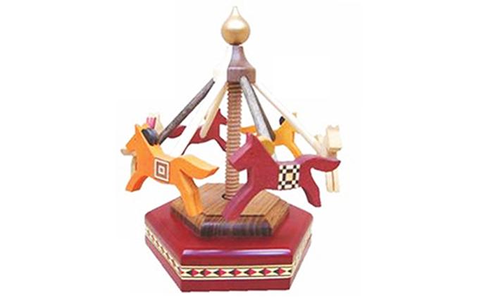 木馬メリーゴーランド(2色より選択可能)