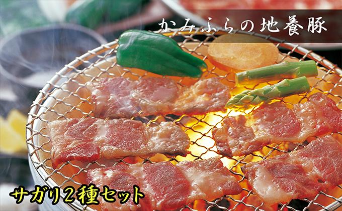 かみふらのポーク【地養豚】サガリ(生・味付)2kgセット