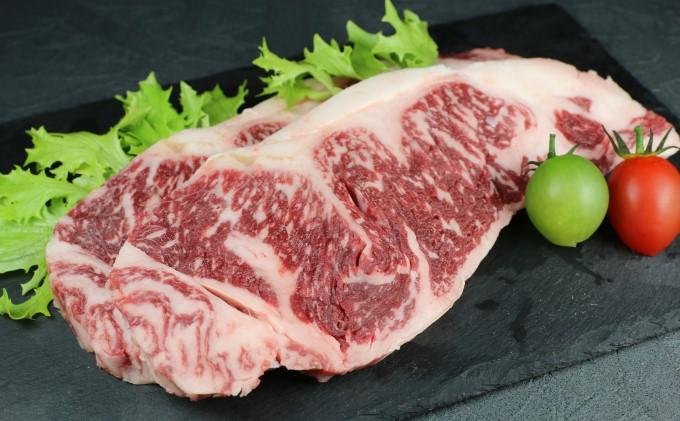 熊本県産 黒毛和牛 ロースステーキ 500g