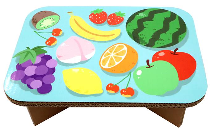 #table フルーツ(あお)