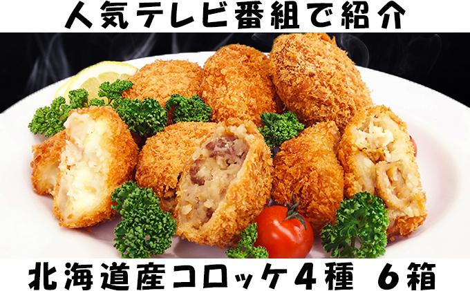 木古内産 はこだて和牛コロッケ&バラエティセット(6箱)