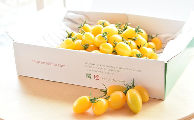 食卓を彩るトマト。あま~いイエロースピカ(1kg)