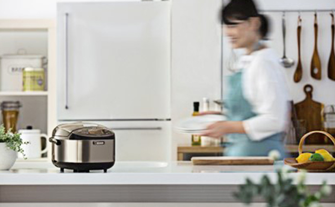 象印IH炊飯ジャー「極め炊き」NPGK05-XT 3合炊き ステンレスブラウン