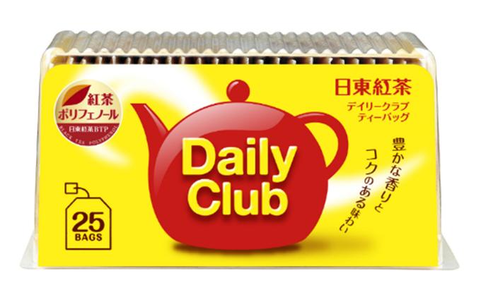 【日東紅茶】デイリークラブ ティーバッグ 25袋×15個
