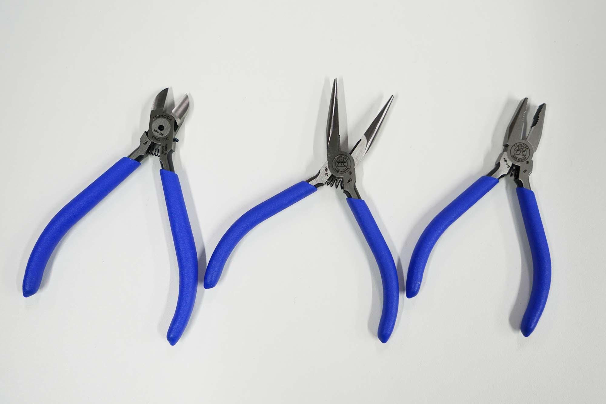 【専用工具で仕上りがキレイ】ミニDIY基本工具3点セット CS015019