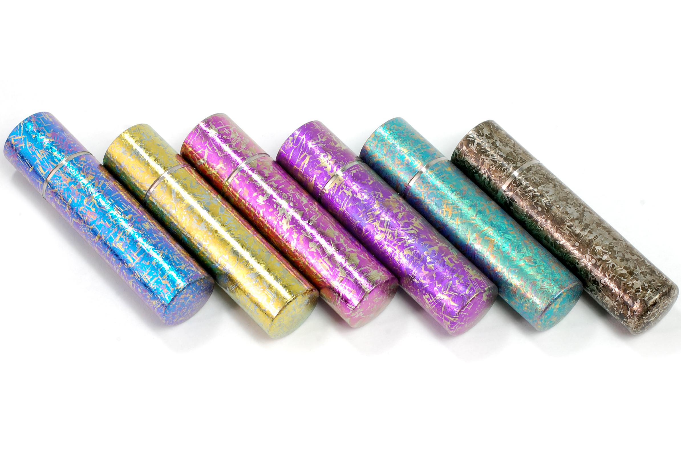 チタン印鑑 匠チタン燕 実印用 18.0mm CS284001