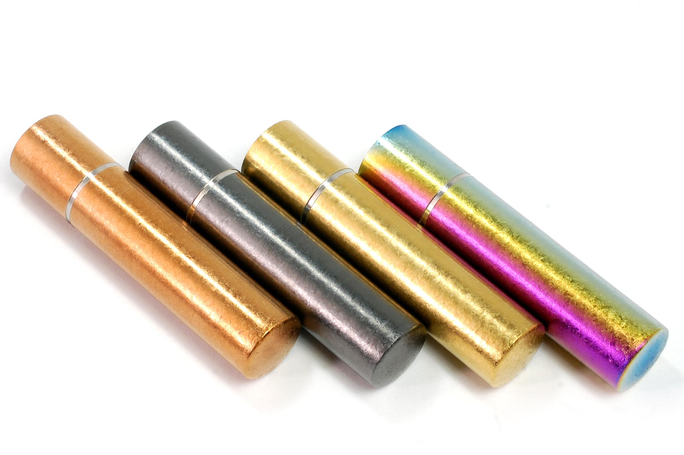 チタン印鑑 匠チタン星 銀行印、実印用 13.5mm CS084001