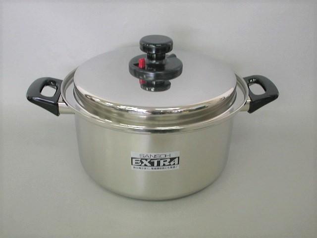 三層鋼 エクストラ両手鍋26cm CS020002