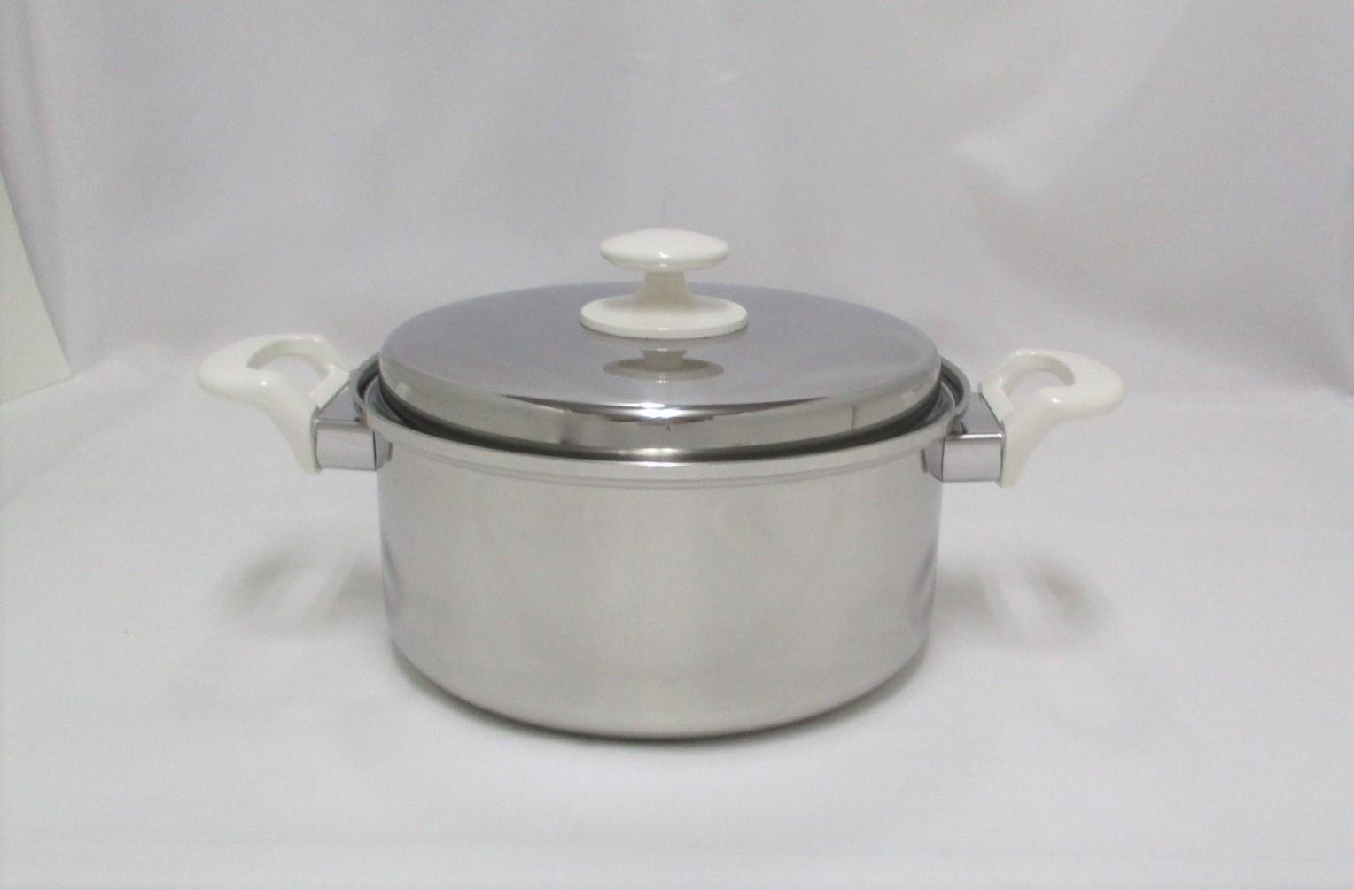 三層鋼両手鍋22cm CS015002