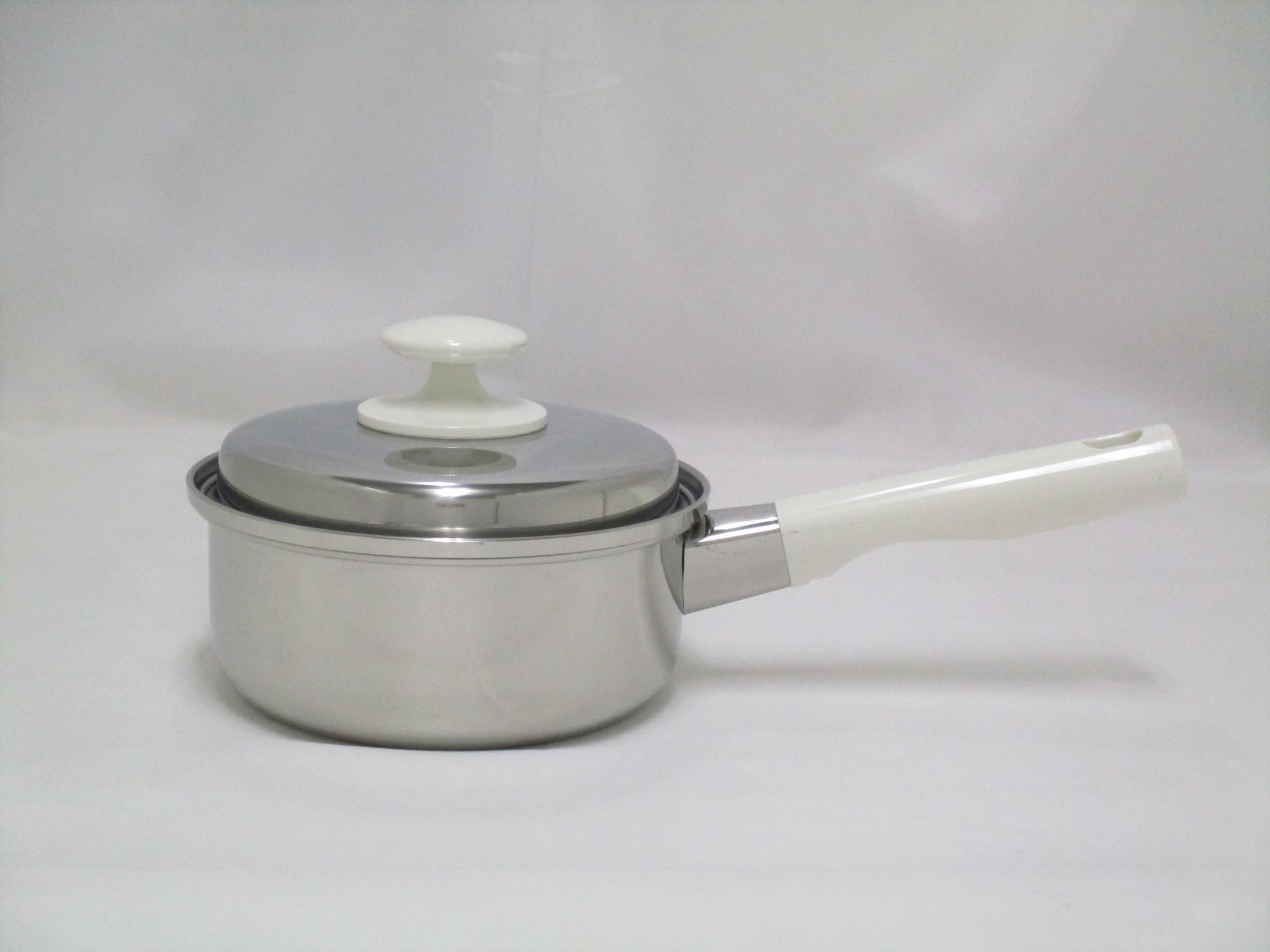 三層鋼片手鍋16cm CS010001