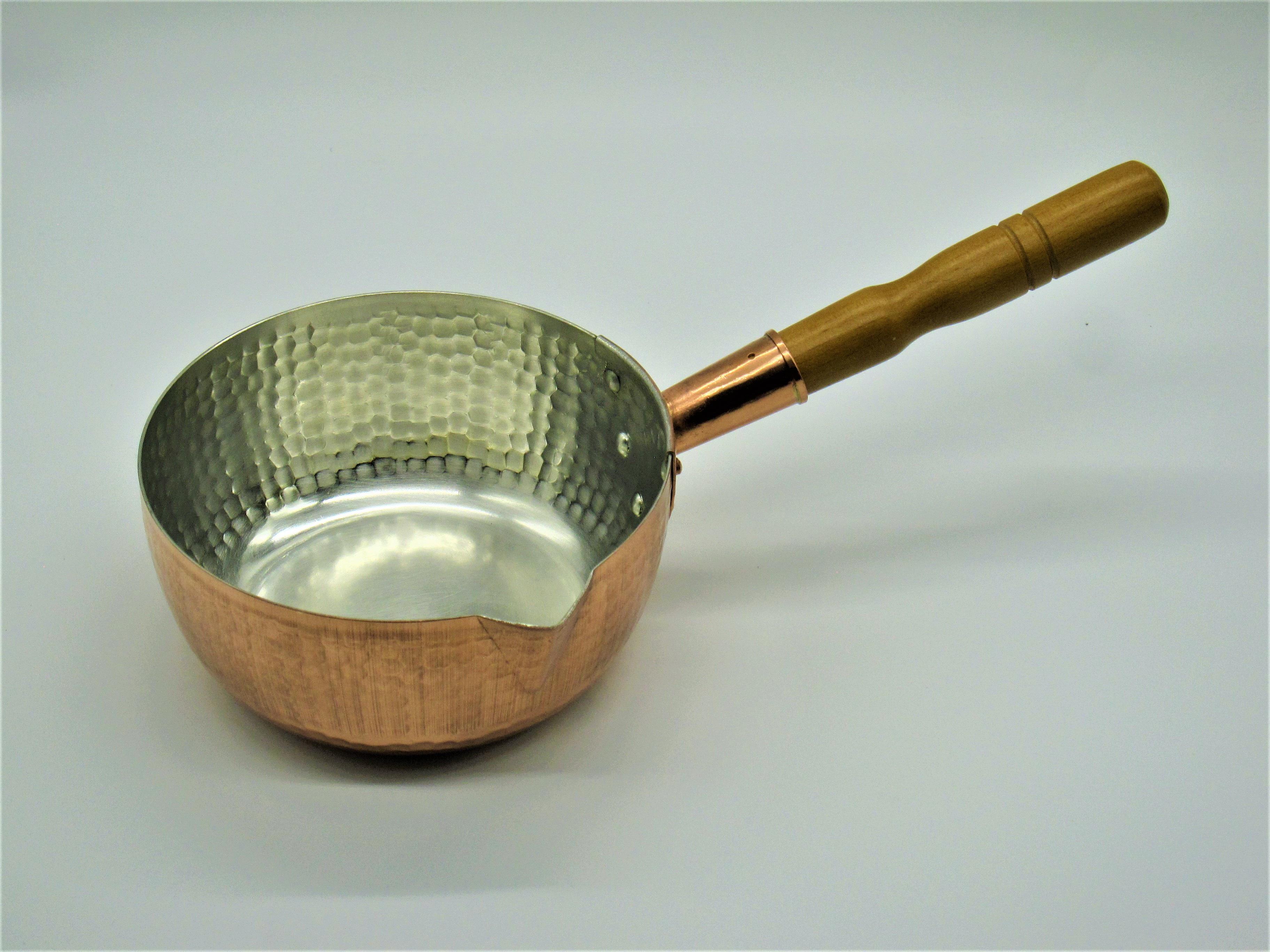 銅製 雪平鍋18cm CS020008