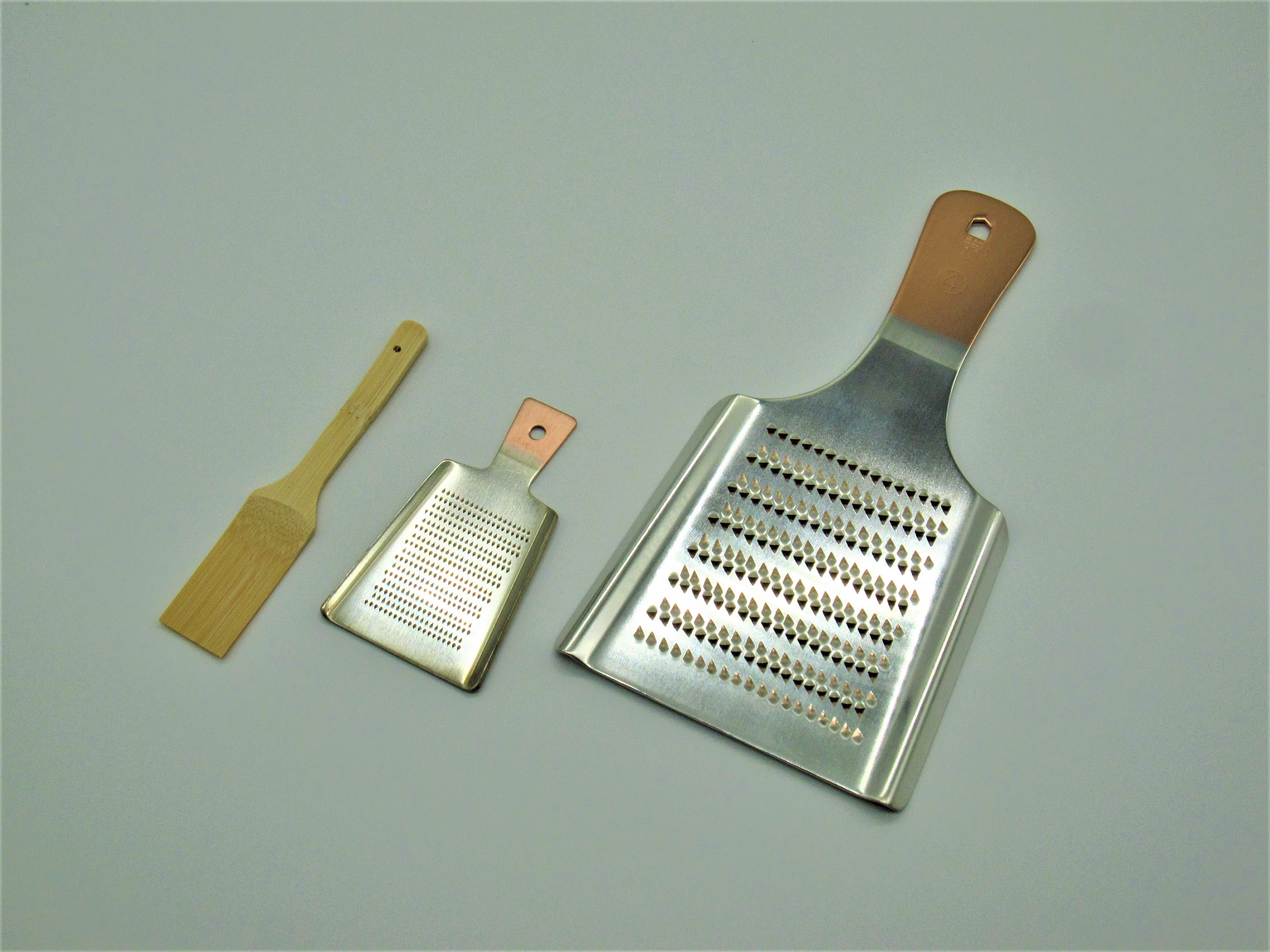 銅製おろし金・ミニおろし金セット(べんりはけ付) CS020012