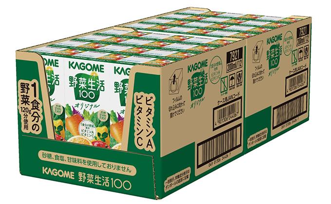 長野県富士見町のふるさと納税 カゴメ 野菜生活オリジナル(24本入)【ジュース・野菜・果実ミックスジュース】