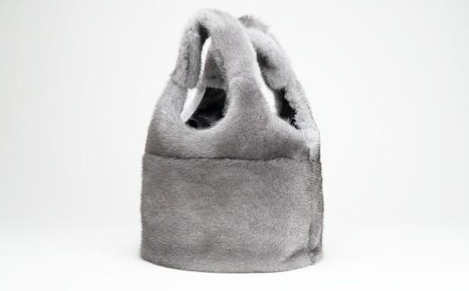170-31 ミンクオーバルバッグ(ブルーアイリス)