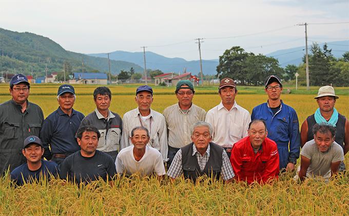 北海道仁木町のふるさと納税 銀山米研究会のお米3種食べ比べセット(計6kg)