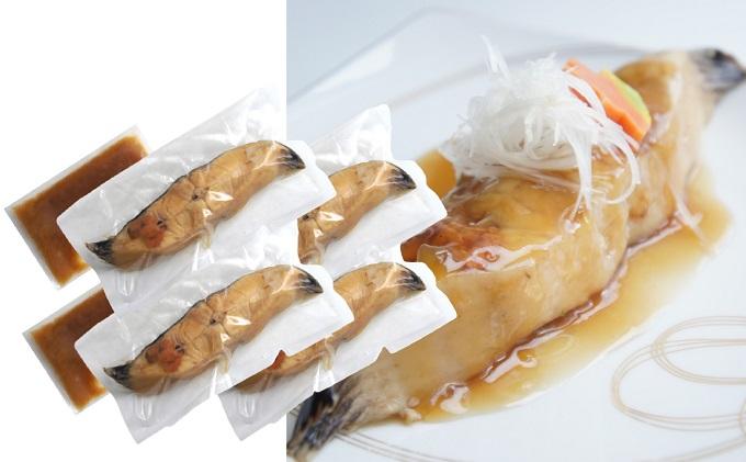 三陸割烹まるしち亭 三陸産 ナメタガレイの煮付け4切れ【手作り・骨抜き骨切り済み・化学調味料不使用】