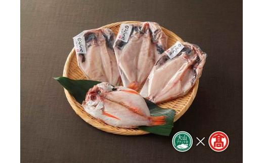 日本海西部産 開きのどぐろ干物4~6枚(大